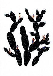 black-cacti-II