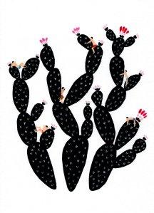 black-cacti