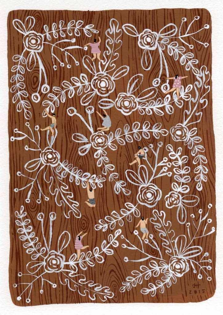 brown-floral