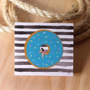 blue-donut-bw-stripes
