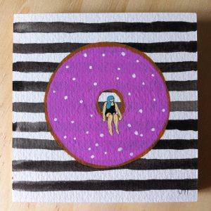 purple-donut-bw-stripes