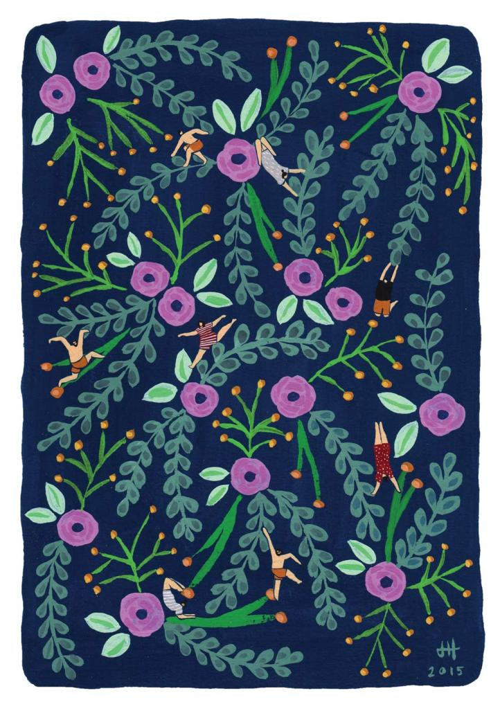 floral-navy