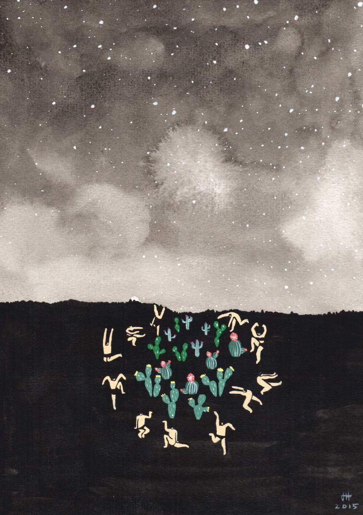 midnight-desert