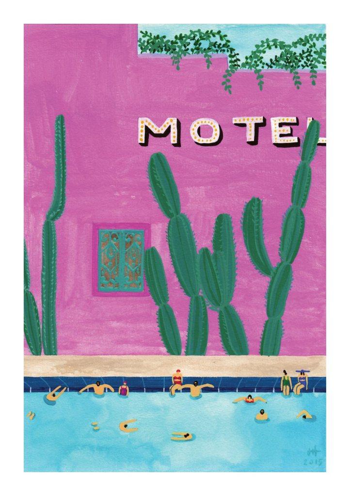 pool-motel